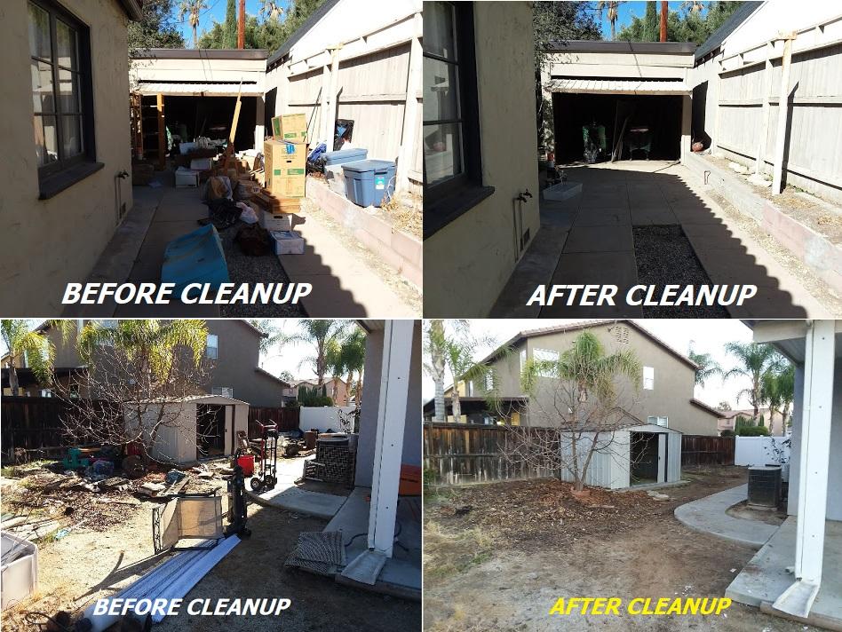 Junk Removal & Property Cleanout - Concrete & Debris removal
